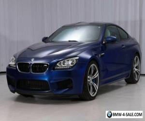 Item 2015 BMW M6 Coupe 6MT for Sale