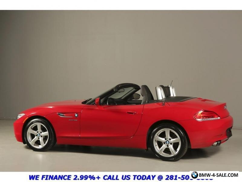 2014 bmw z4 2014 sport conv nav leather 17 alloys red premium for sale in canada. Black Bedroom Furniture Sets. Home Design Ideas