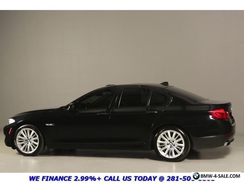 2012 BMW 5 Series 550i V8 SPORT NAV SUNROOF HUD LANE CAMERA PKG For