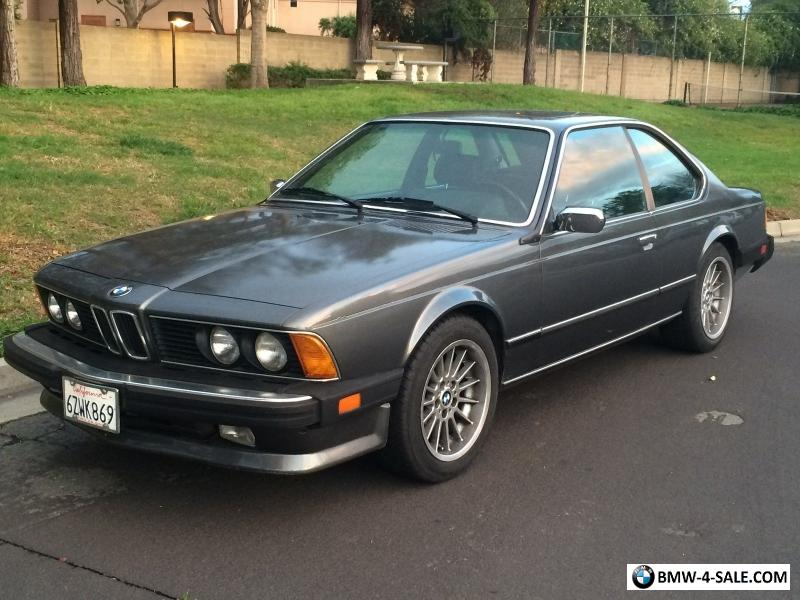 1987 bmw 6 series e24 for sale in united states. Black Bedroom Furniture Sets. Home Design Ideas