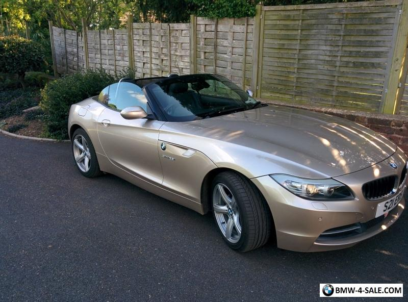 2011 sports convertible z4 for sale in united kingdom rh bmw 4 sale com BMW Z4 M Series 2003 BMW Z4 Manual
