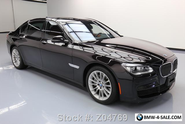 2013 bmw 7 series 760li v12 sunroof climate leather nav. Black Bedroom Furniture Sets. Home Design Ideas