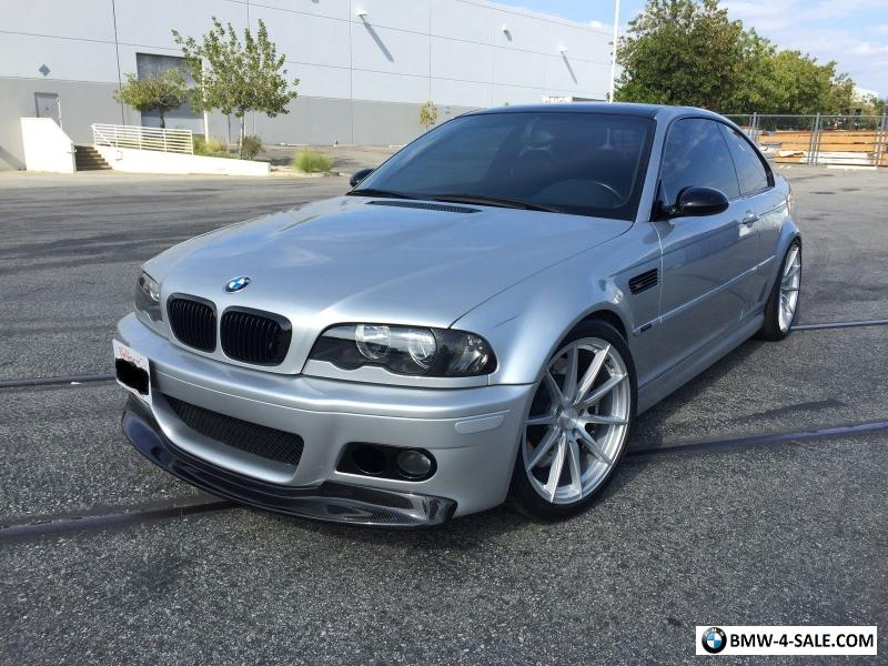 2002 bmw m3 e46 m3 slick top 6 speed manual dinan rare for sale in canada. Black Bedroom Furniture Sets. Home Design Ideas