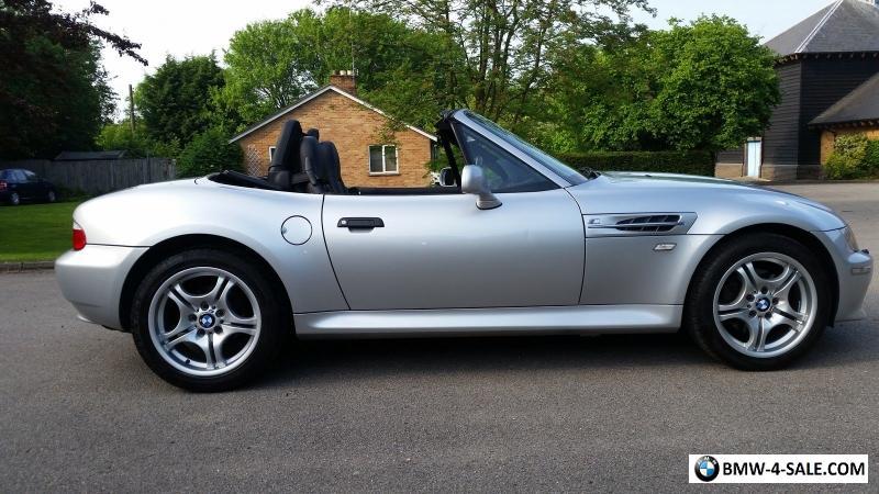 2001 Bmw Z3 For Sale In United Kingdom