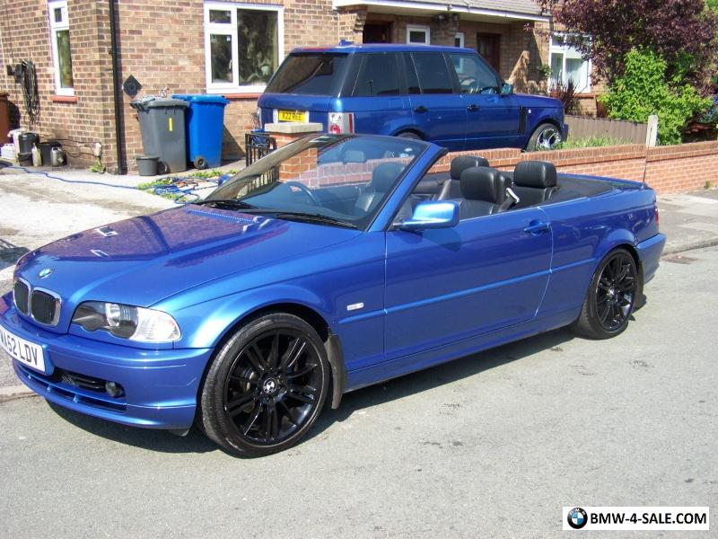 2002 Sports Convertible 318 For Sale In United Kingdom