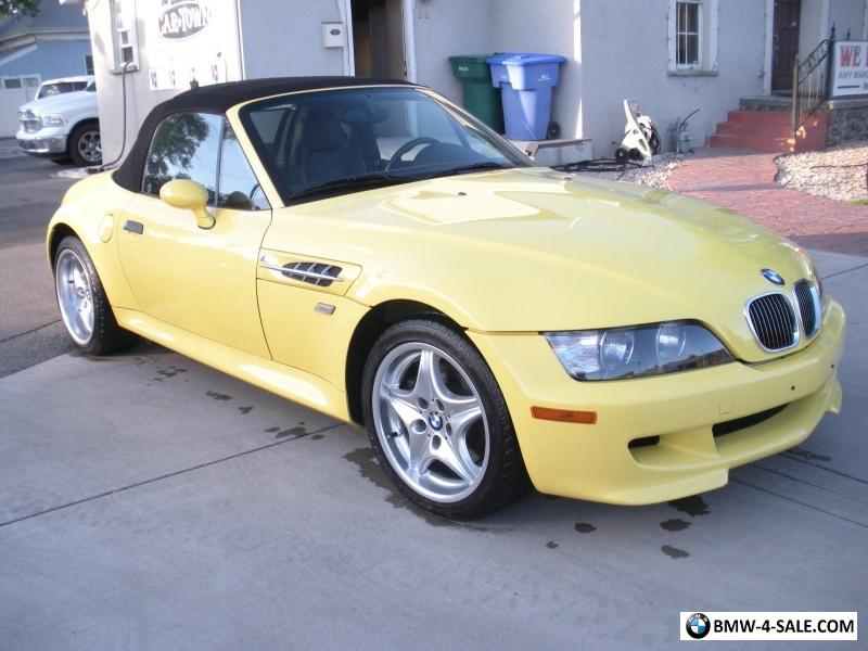 2000 Bmw Z3 M Roadster For Sale In United States
