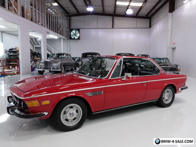 Bmw 3.0 Cs For Sale >> 1972 Bmw 3 Series 3 0cs Coupe Original Matching S Engine