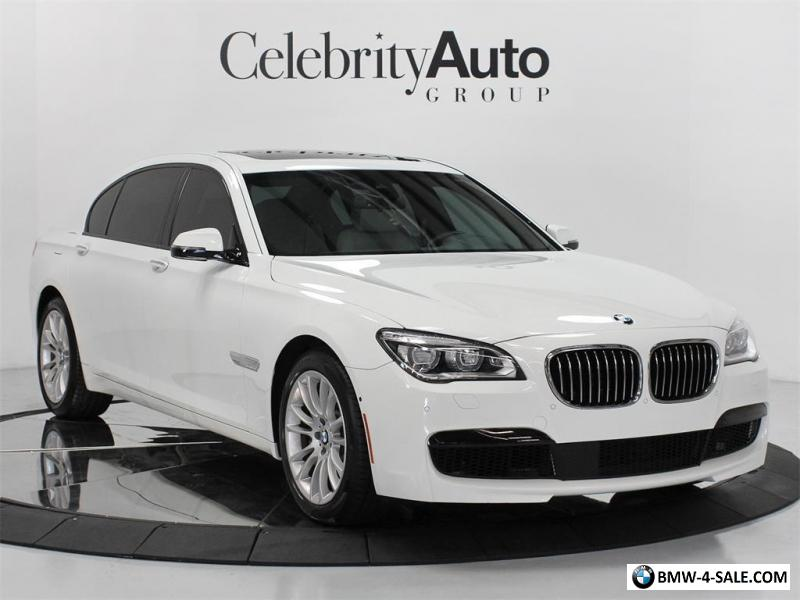 2015 bmw 7 series 750li m sport 107 450 msrp for sale in canada. Black Bedroom Furniture Sets. Home Design Ideas