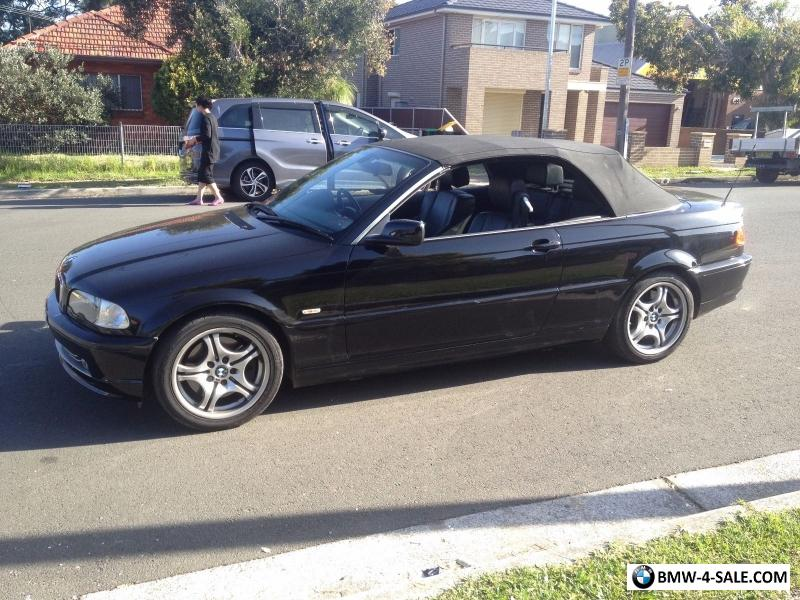 Bmw 330ci Convertible 2002 Automatic 124 699kms Long Rego For