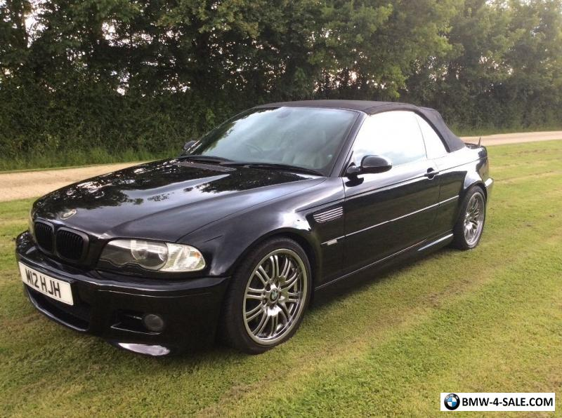 2004 Sports Convertible M3 For Sale In United Kingdom