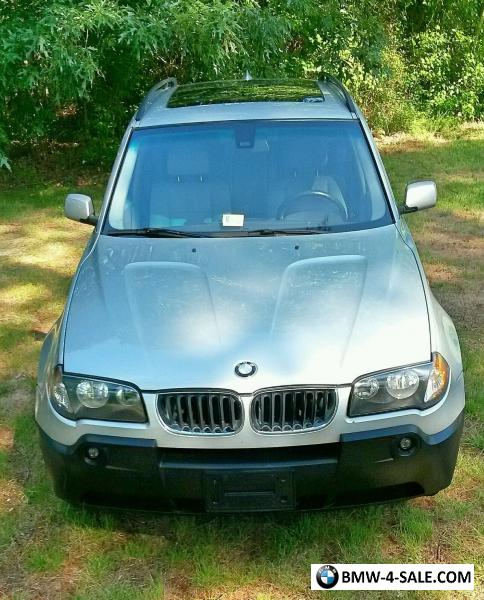 2005 BMW X3 3.0i AWD For Sale In United States