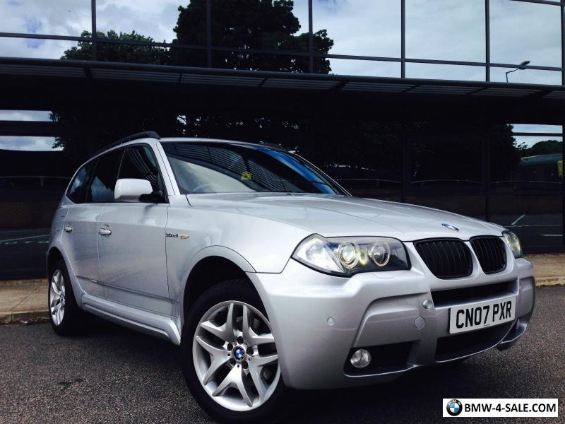 2007 bmw x3 for sale in united kingdom. Black Bedroom Furniture Sets. Home Design Ideas