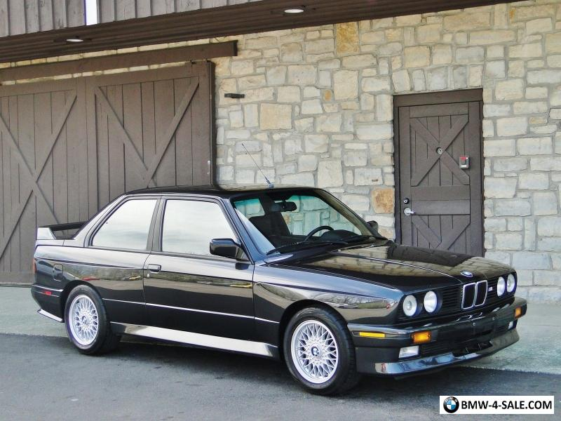 1989 Bmw M3 For Sale In Canada