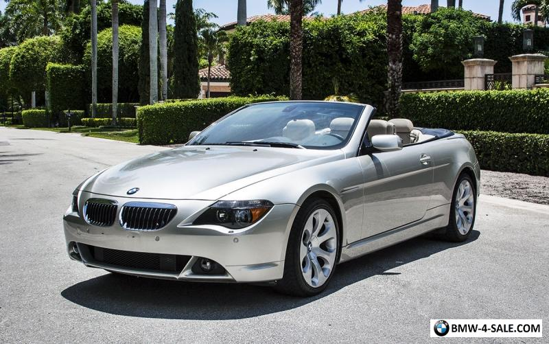 2005 bmw 6 series 645ci for sale in united states. Black Bedroom Furniture Sets. Home Design Ideas