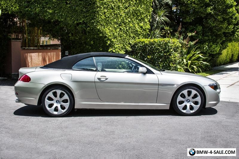 2005 Bmw 6 Series 645ci For