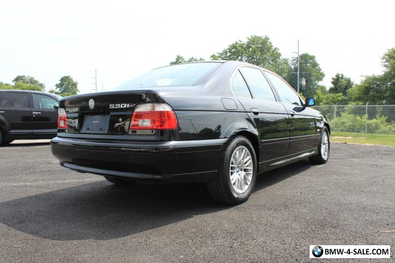 Carfax Customer Service >> 2003 BMW 5-Series 2003 BMW 530i SPORT SEDAN E39 for Sale ...