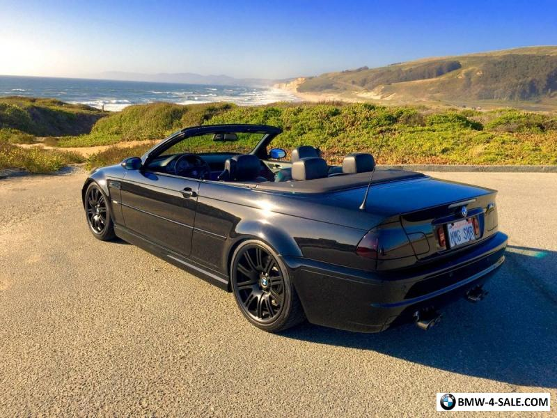 2004 bmw m3 convertible for sale in united states. Black Bedroom Furniture Sets. Home Design Ideas