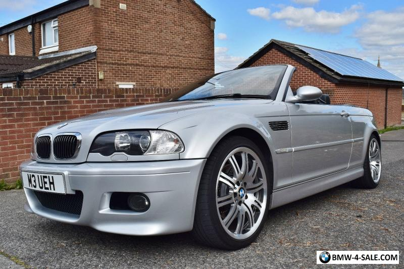 2003 sports convertible m3 for sale in united kingdom. Black Bedroom Furniture Sets. Home Design Ideas