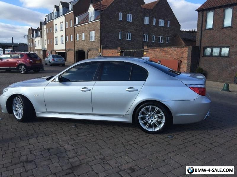 2007 bmw 530 for sale in united kingdom. Black Bedroom Furniture Sets. Home Design Ideas