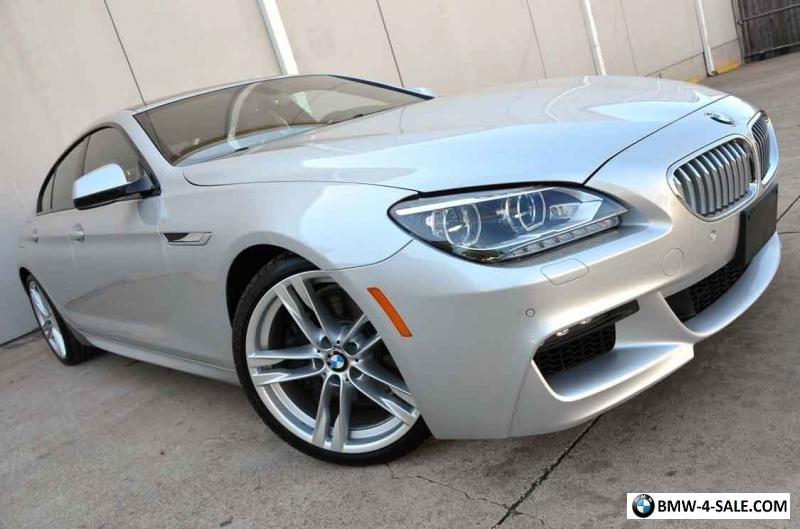 2014 bmw 6 series 650i gran coupe loaded executive m sport 20 wheels for sale in united states - 6 series gran coupe for sale ...