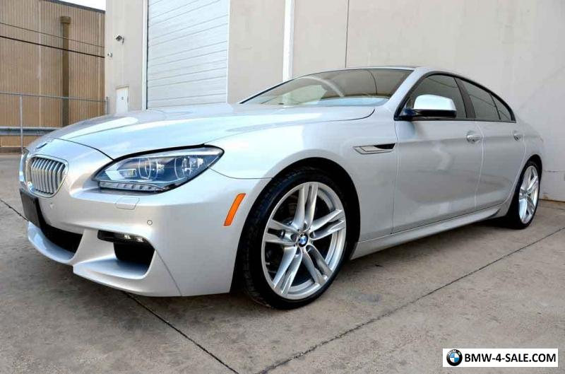 2014 bmw 6 series 650i gran coupe loaded executive m sport 20 wheels for sale in united states. Black Bedroom Furniture Sets. Home Design Ideas