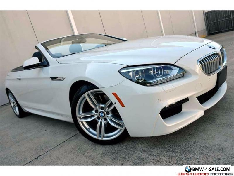 2014 bmw 6 series 650i convertible m sport edition executivelighting for sale in united states. Black Bedroom Furniture Sets. Home Design Ideas