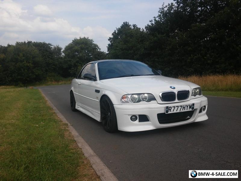 2001 Sports Convertible 3 Series For Sale In United Kingdom