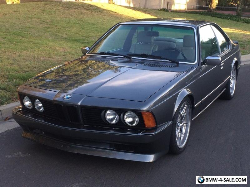 1985 bmw 6 series for sale in united states. Black Bedroom Furniture Sets. Home Design Ideas