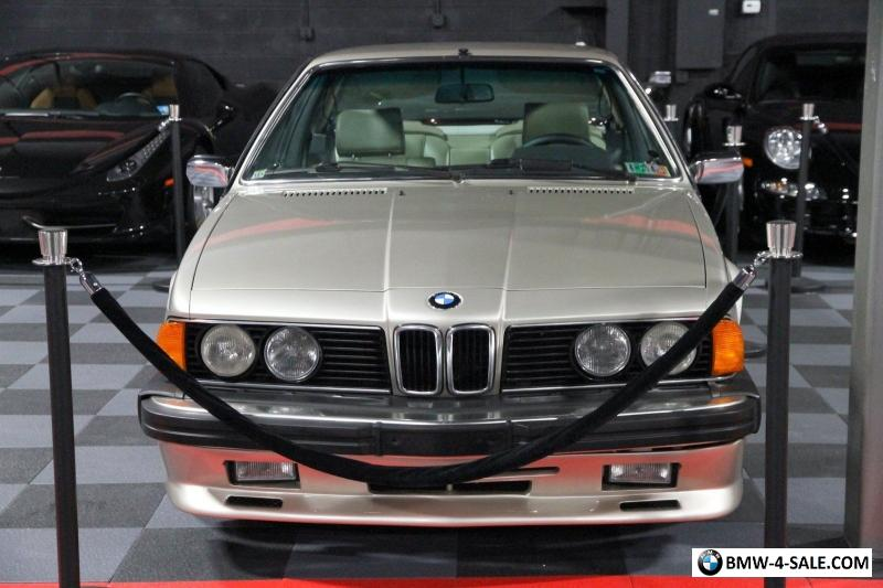 1984 BMW 6 Series For Sale