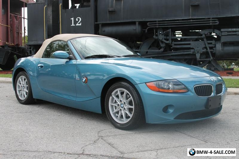 2004 Bmw Z4 2 5i Luxury Import Performance Sport Roadster