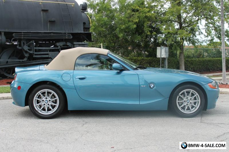 2004 Bmw Z4 2 5i Luxury Import Performance Sport Roadster For Sale In United States