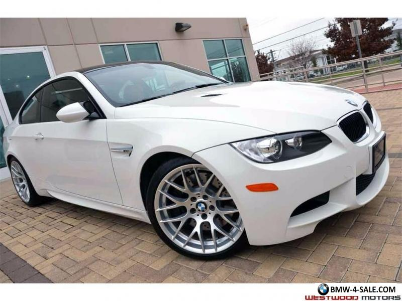 2012 Bmw M3 Coupe Competition Pkg Loaded Pristine For Sale In