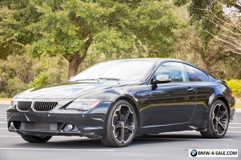 Best Gas For BMW >> 2005 BMW 6-Series for Sale in United States