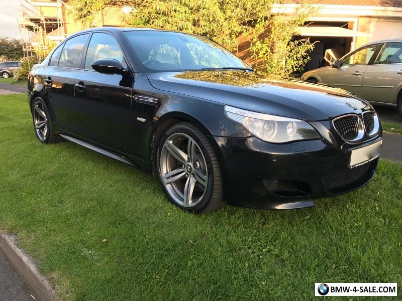 2006 saloon m5 for sale in united kingdom. Black Bedroom Furniture Sets. Home Design Ideas