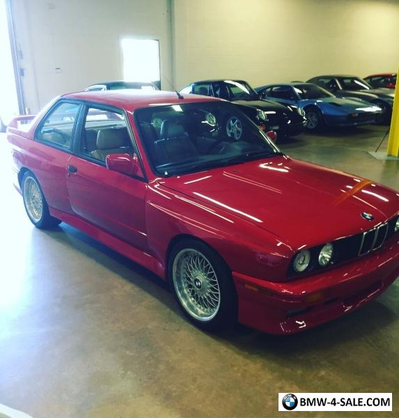1988 BMW M3 For Sale In United States