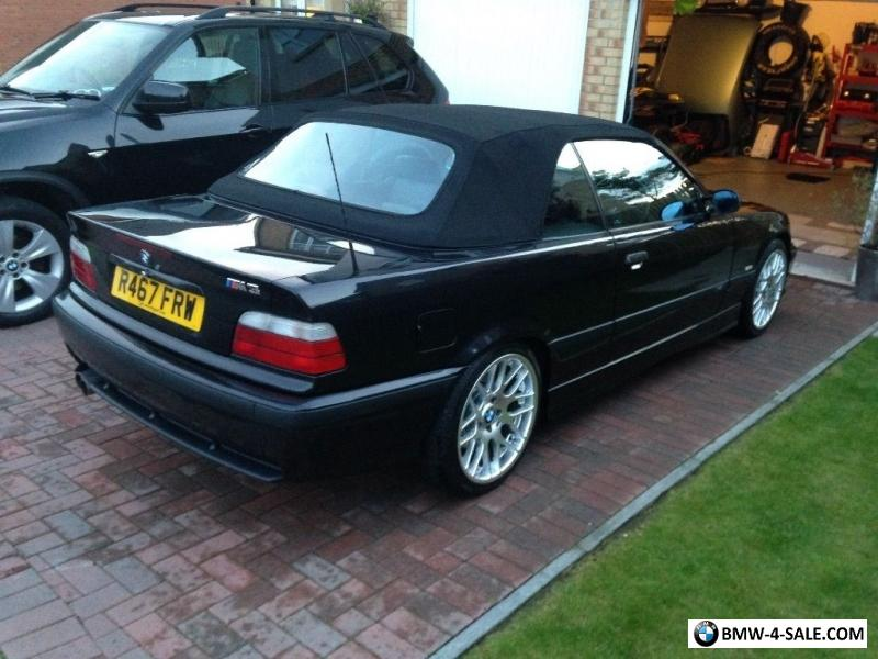 SportsConvertible M For Sale In United Kingdom - 1997 bmw m3 convertible