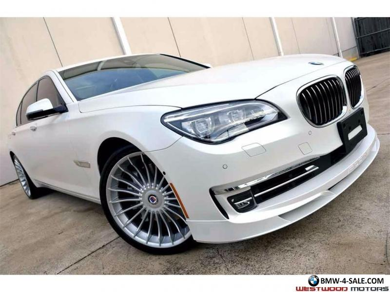 2014 bmw 7 series alpina b7 lwb super loaded msrp 152 725. Black Bedroom Furniture Sets. Home Design Ideas