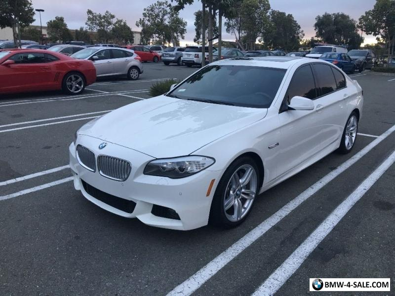 2013 BMW 5 Series M SPORT For Sale