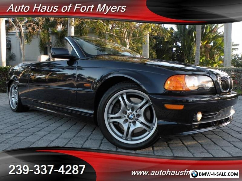 2001 BMW 3Series 330Ci Convertible Ft Myers FL for Sale in United