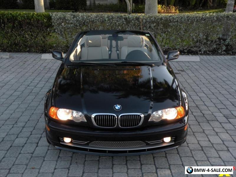 2001 Bmw 3 Series 330ci Convertible Ft Myers Fl For Sale