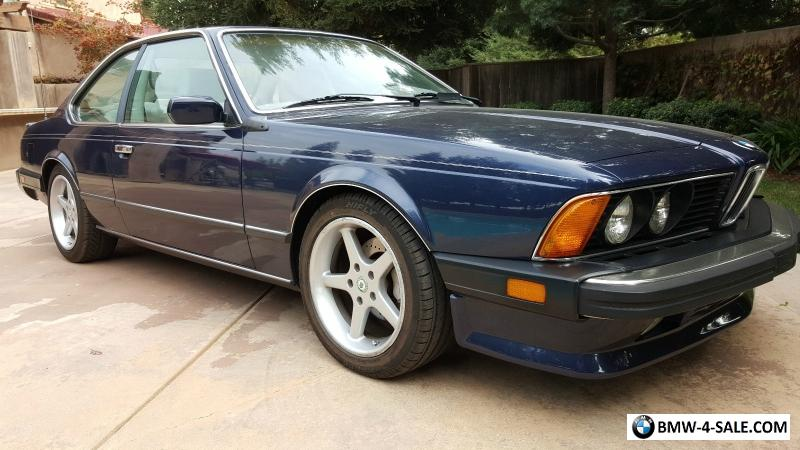 1987 M6 M Series M6 For Sale In United States