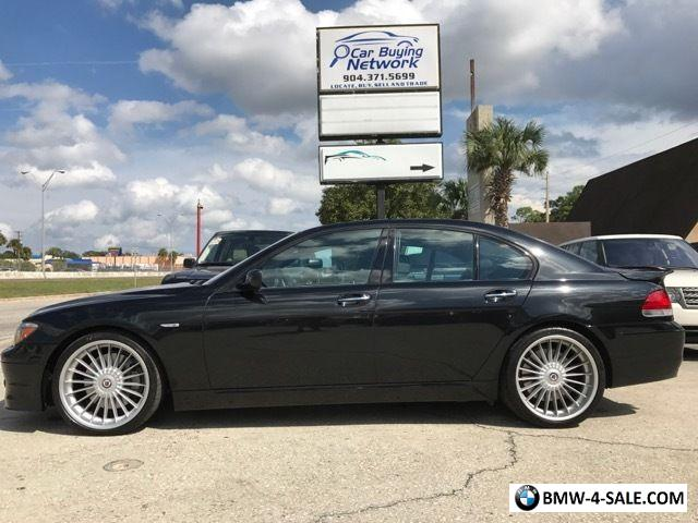 BMW Series Alpina B For Sale In United States - Bmw b7 alpina for sale