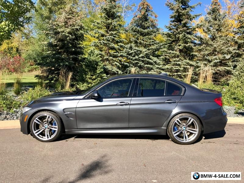 2015 M3 For Sale >> 2015 Bmw M3 Base Sedan 4 Door For Sale In United States