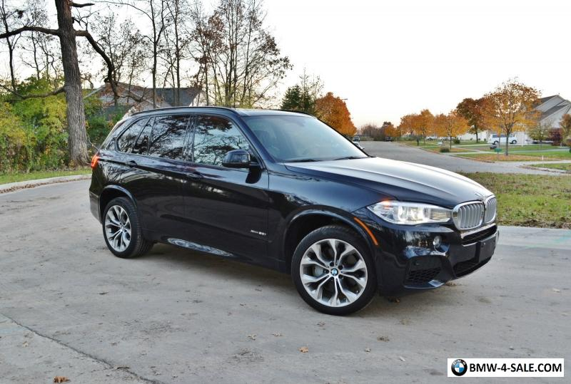 2014 Bmw X5 50i M Sport 3rd Row Seat Tow Package For Sale