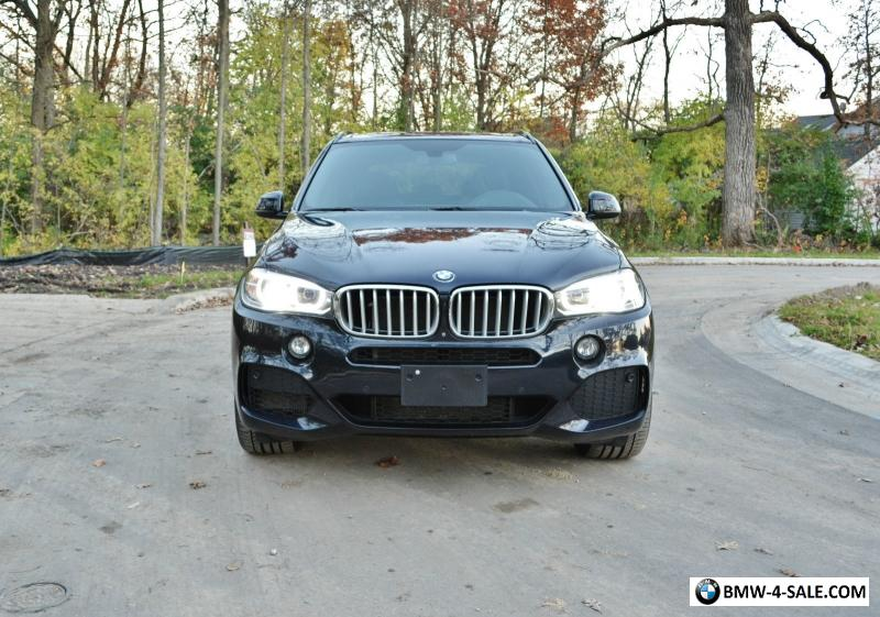 2014 Bmw X5 50i M Sport 3rd Row Seat Tow Package For Sale In United