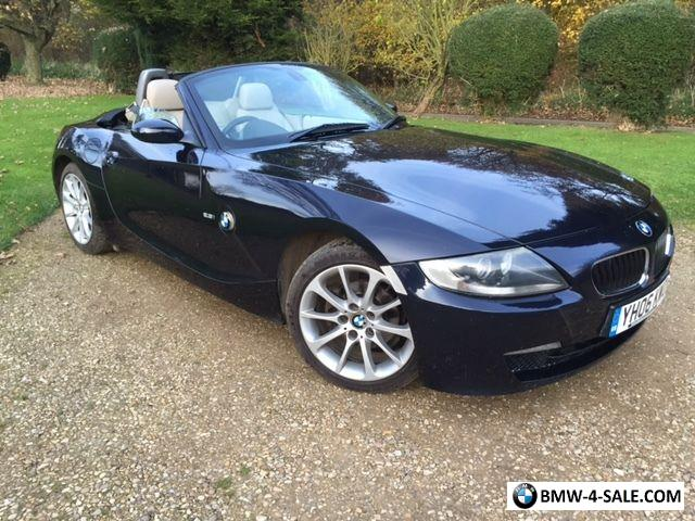 2006 sports convertible z4 for sale in united kingdom. Black Bedroom Furniture Sets. Home Design Ideas