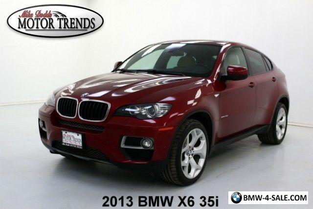 2013 bmw x6 35i nav 360 view cam leather for sale in united states. Black Bedroom Furniture Sets. Home Design Ideas