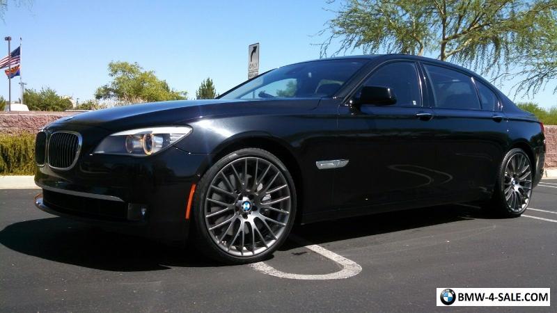 2010 BMW 7-Series Sedan 4-Door for Sale in United States