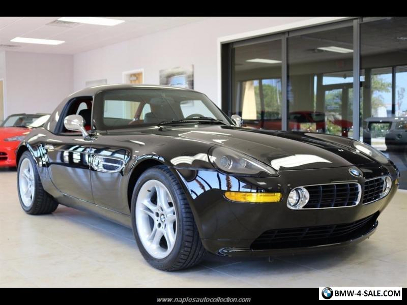 2001 bmw z8 base convertible 2 door for sale in united states. Black Bedroom Furniture Sets. Home Design Ideas