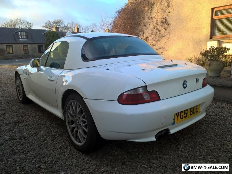 2001 Sports Convertible Z3 For Sale In United Kingdom